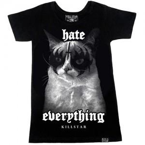 Grumpy Womens T-Shirt