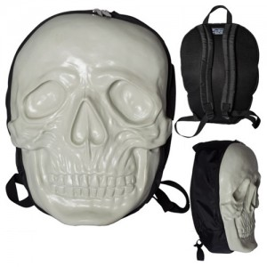Skull Backpack Natural Glow