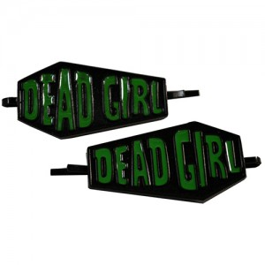 Kreepsville 666 Dead Girl coffin hair slides