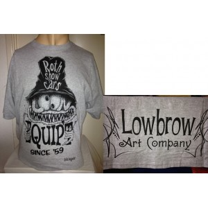 LOWBROW MENS TEE ROTH EQUIPT