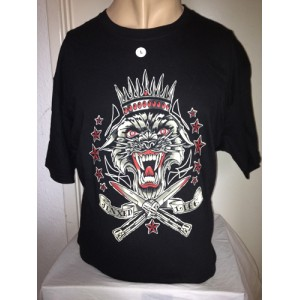 LUCKY 13 MENS TEE TIGER SWITCHBLADE