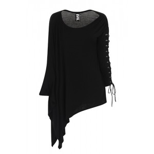 Necessary Evil Gothic Nyx Asymmetric Top