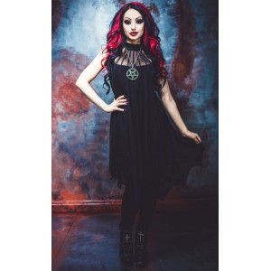 Necessary Evil Medeina Bat Wing Dress