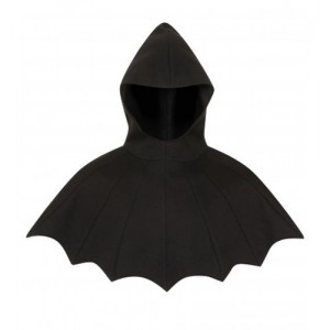 Necessary Evil Nyx Batwing Style Hooded Cape