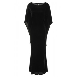 Necessary Evil Freya Velvet Maxi Dress
