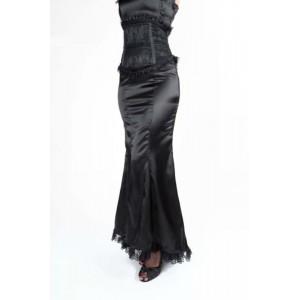 Amara corset satin skirt