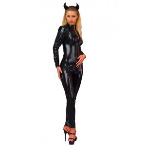 Gloss Long Sleeve Barbarella Catsuit
