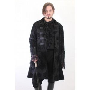 KIARA FLOCK TROUBADOR COAT