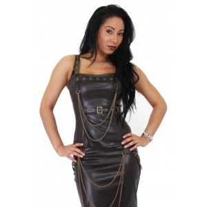 AGGY STEAMPUNK CHAIN TOP