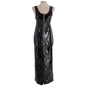 Gloss long matrix dress
