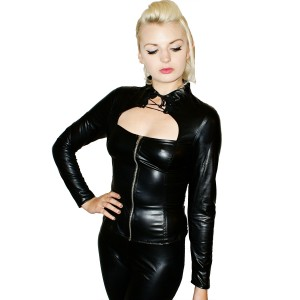 Rubber look L/SL Eye Tape Top