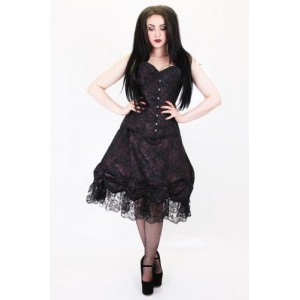 ESME ROUCHE LAYER LACE SKIRT