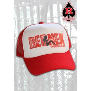 RHAT - Trucker Slut red/white or black/white print