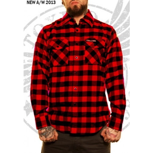 Red Flannel Womens Shirt
