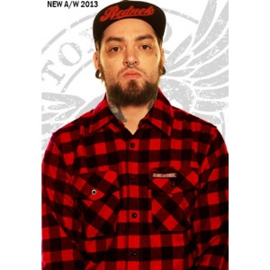 Lumberjack Shirt in Red
