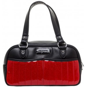 SOURPUSS SABRINA PURSE RED
