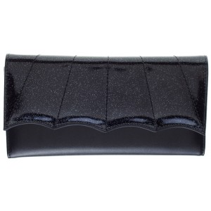 SOURPUSS BAT WING WALLET BLACK