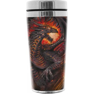 DRAGON COLLAGE Thermo Travel Mug Flask