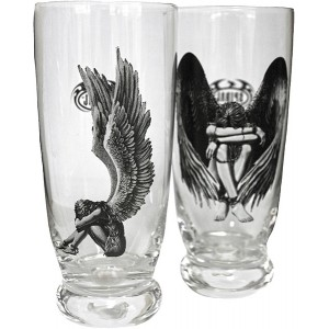 ENSLAVED ANGEL Glasses, Water- SetOf2