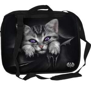 BRIGHT EYES - Laptop Shoulder Bag 15inch