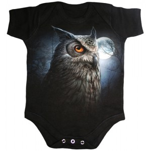 NIGHT WISE Baby Grows Blk