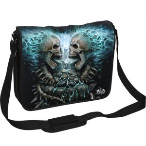 FLAMING SPINE - Laptop Messenger Bag 15inch
