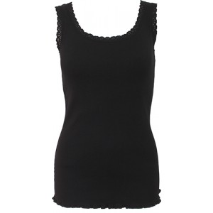 URBAN FASHION - Crochet Collar Ribbed Vest