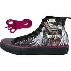 62b2139a7045 Alternative High Top Shoes - blackrose - Black Rose