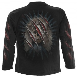 BEAR CLAWS - Longsleeve T-Shirt Black