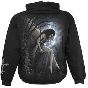 ANGEL LAMENT Hooded SS Blk