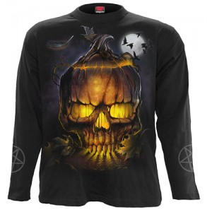WITCHING HOUR - Longsleeve T-Shirt Black