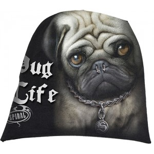PUG LIFE - Light Cotton Beanies Black