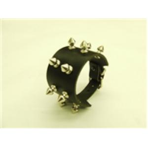 2 Row Small Spike Wristband