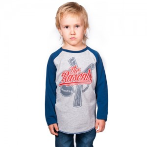 Baseball Shirt - Rascals (Blue-Grey)