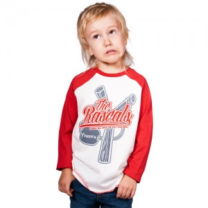 Baseball Shirt - Rascals (Red-White)