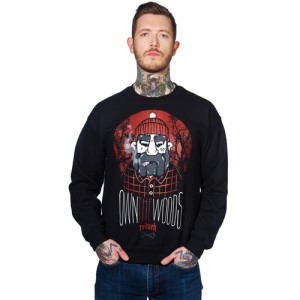 Rednek Crew Neck - Own The Woods (Black)