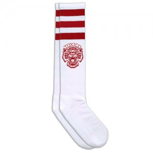 Toxico Socks - Tigers (Red)