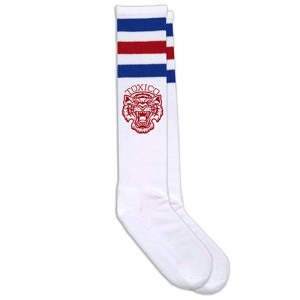Toxico Socks - Tigers (Red-Blue)