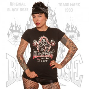 Blackrose Clothing Promo Gothic Nun Girls T`shirt